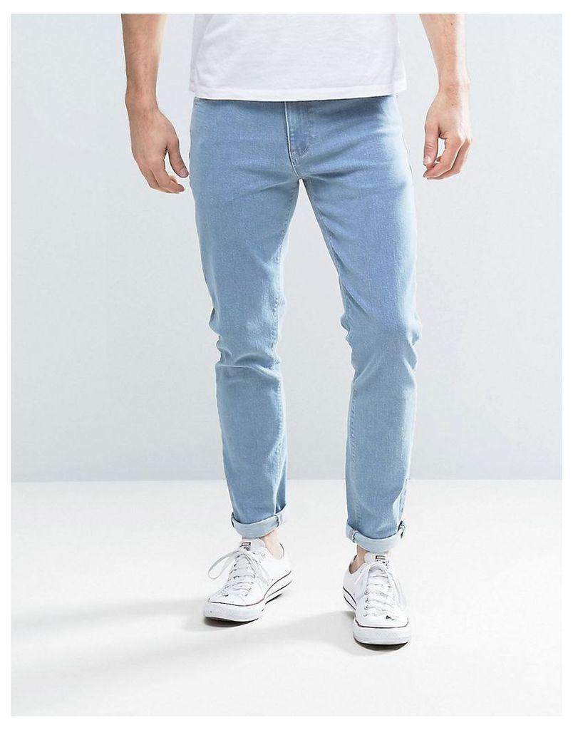 ASOS Skinny Jeans In Light Blue - Light wash blue