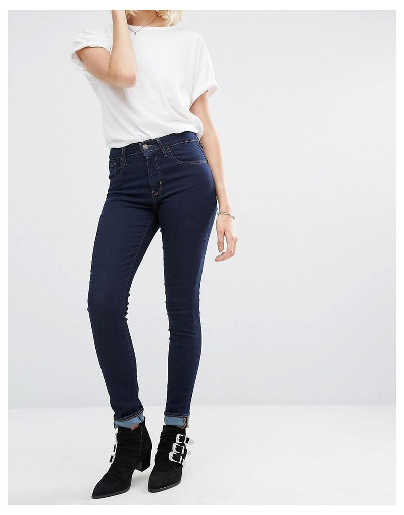 Levi's 721 Skinny High Rise Jeans - Lone wolf