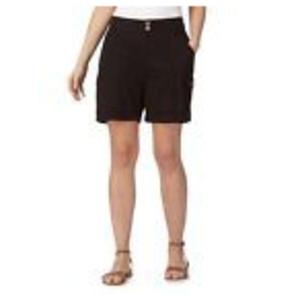Mantaray Womens Black Poplin Shorts From Debenhams