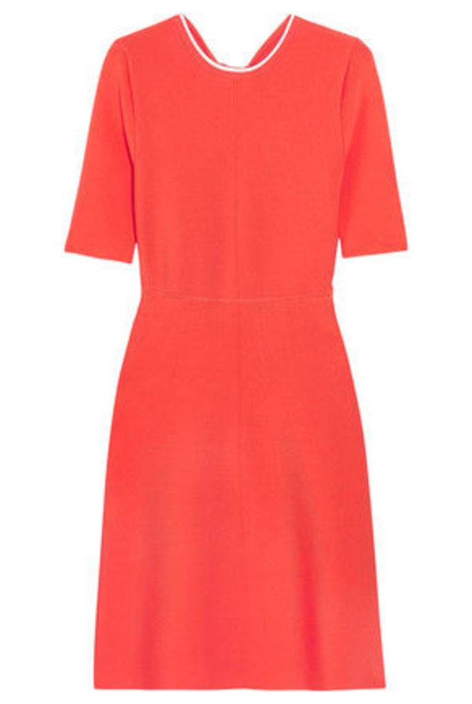 Victoria, Victoria Beckham - Open-back Ribbed Stretch-jersey Dress - Orange