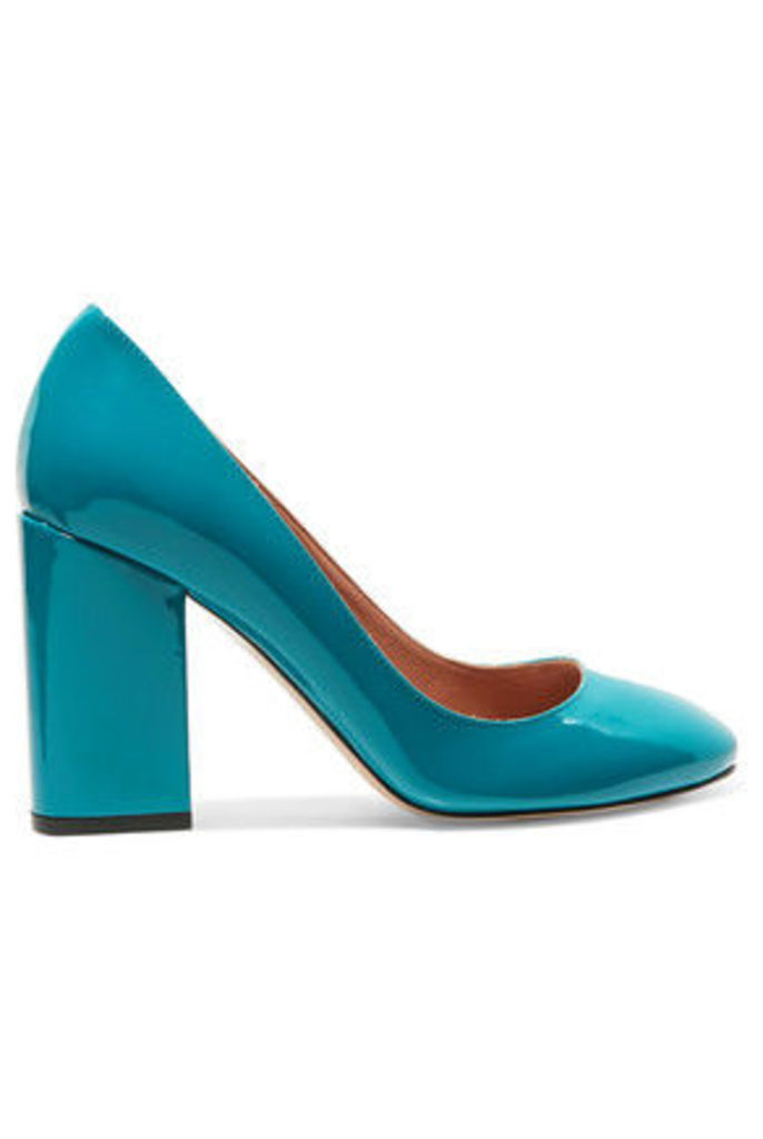 REDValentino - Patent-leather Pumps - Teal