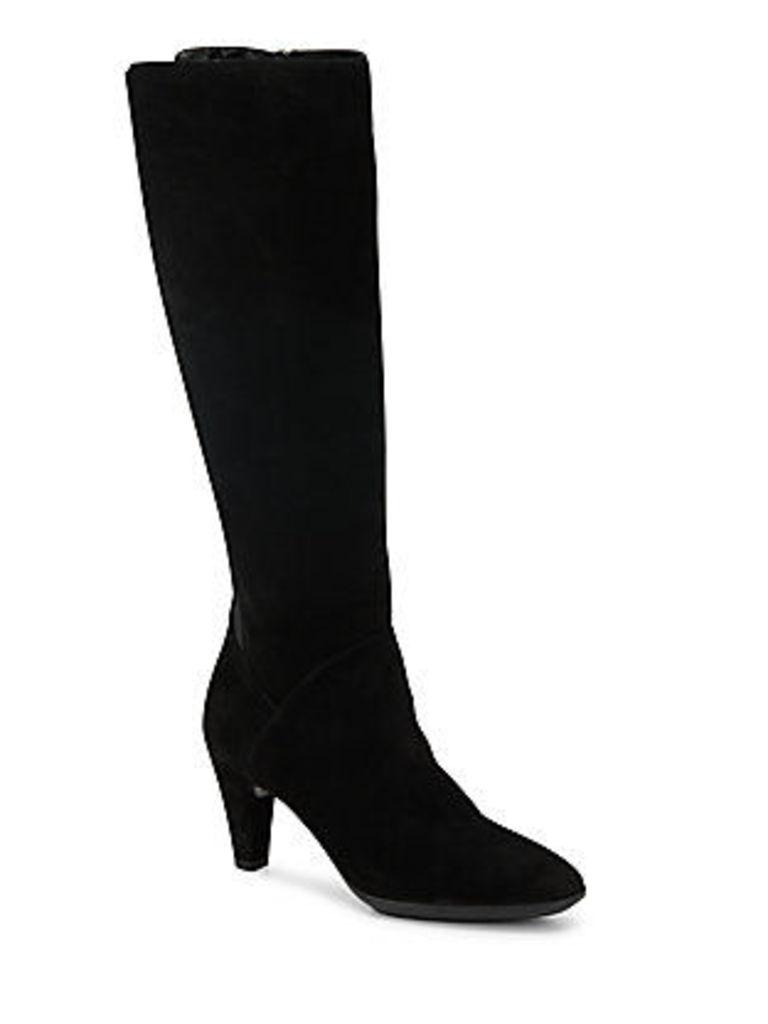 Danica Suede Knee-High Boots