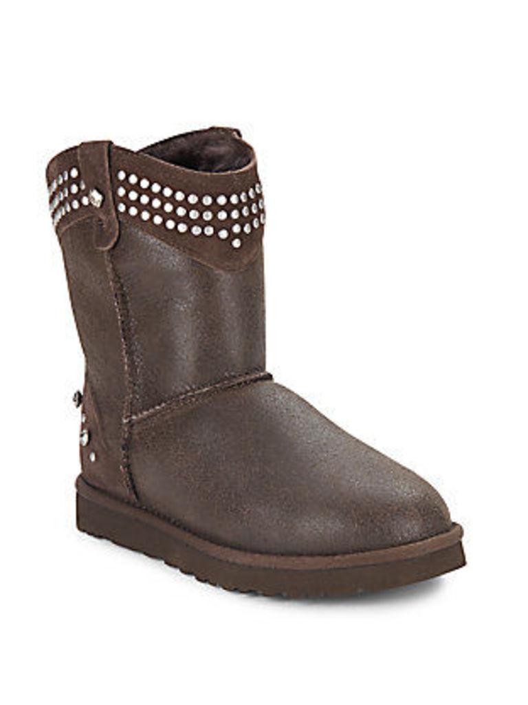Bowen Shearling Studded Boots
