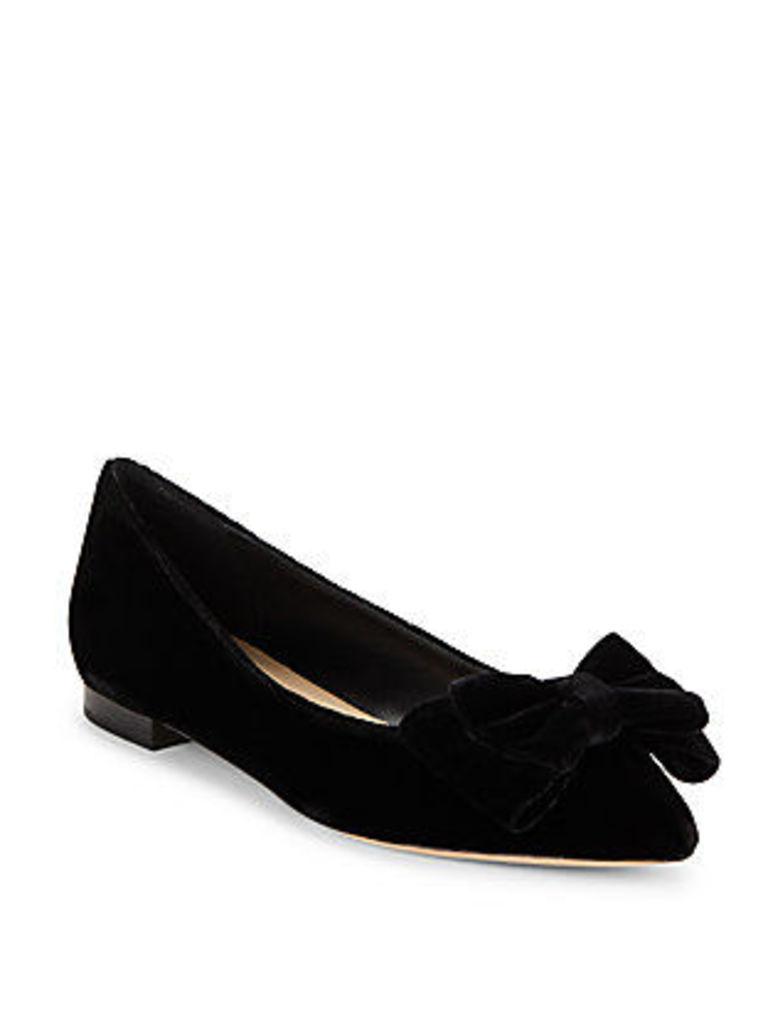 Pointy Toe Slip-On Ballet Flats