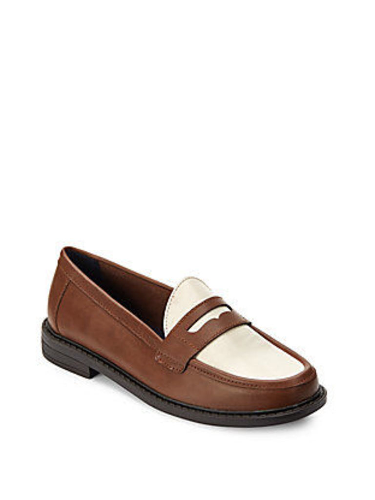 Pinch Campus Leather Penny Loafers