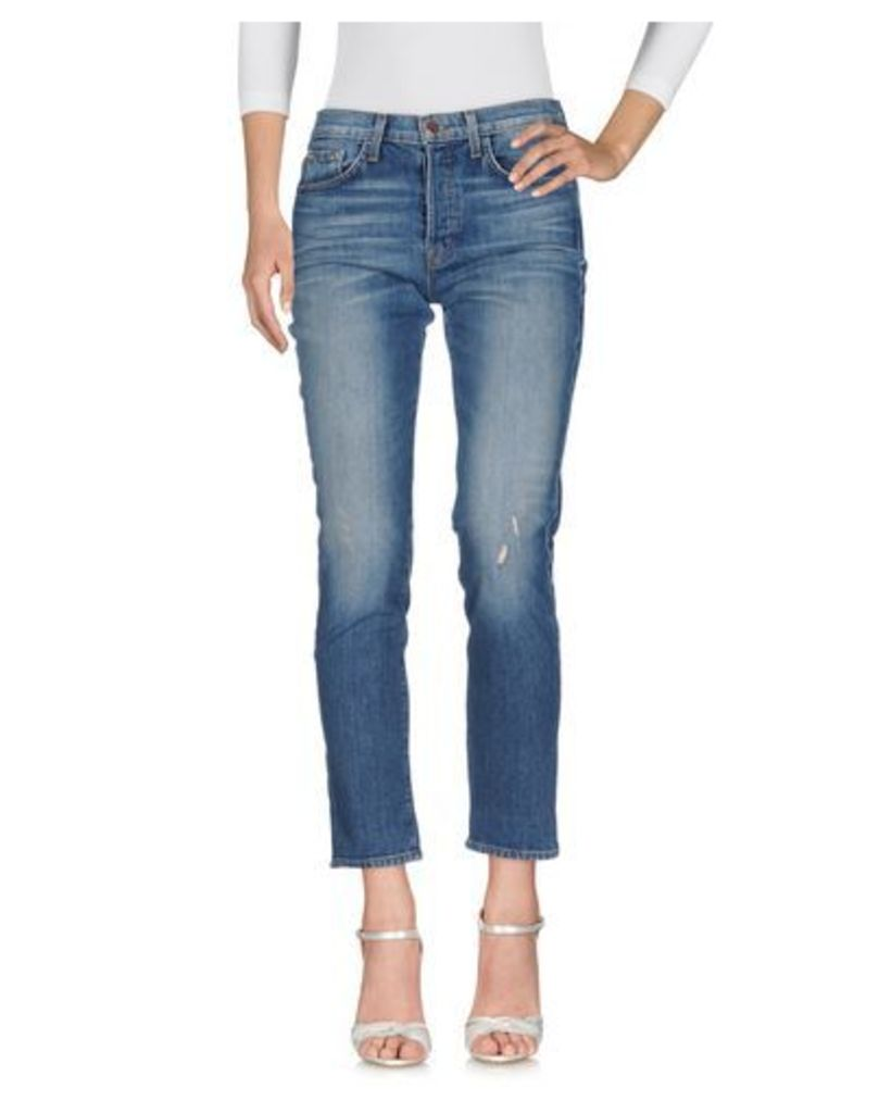J BRAND DENIM Denim trousers Women on YOOX.COM