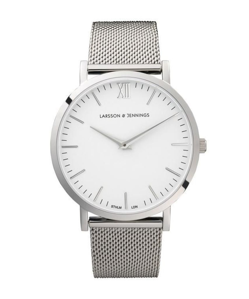 Lugano 40mm Stainless Steel Watch