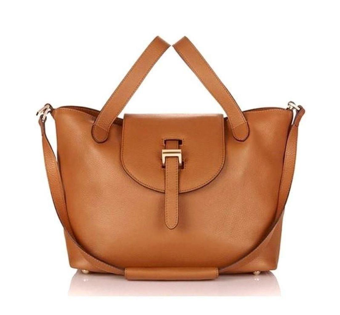 Thela Medium Tote Bag Tan