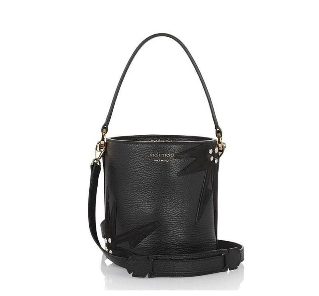 Santina Mini Bucket Bag Black Wonderplant
