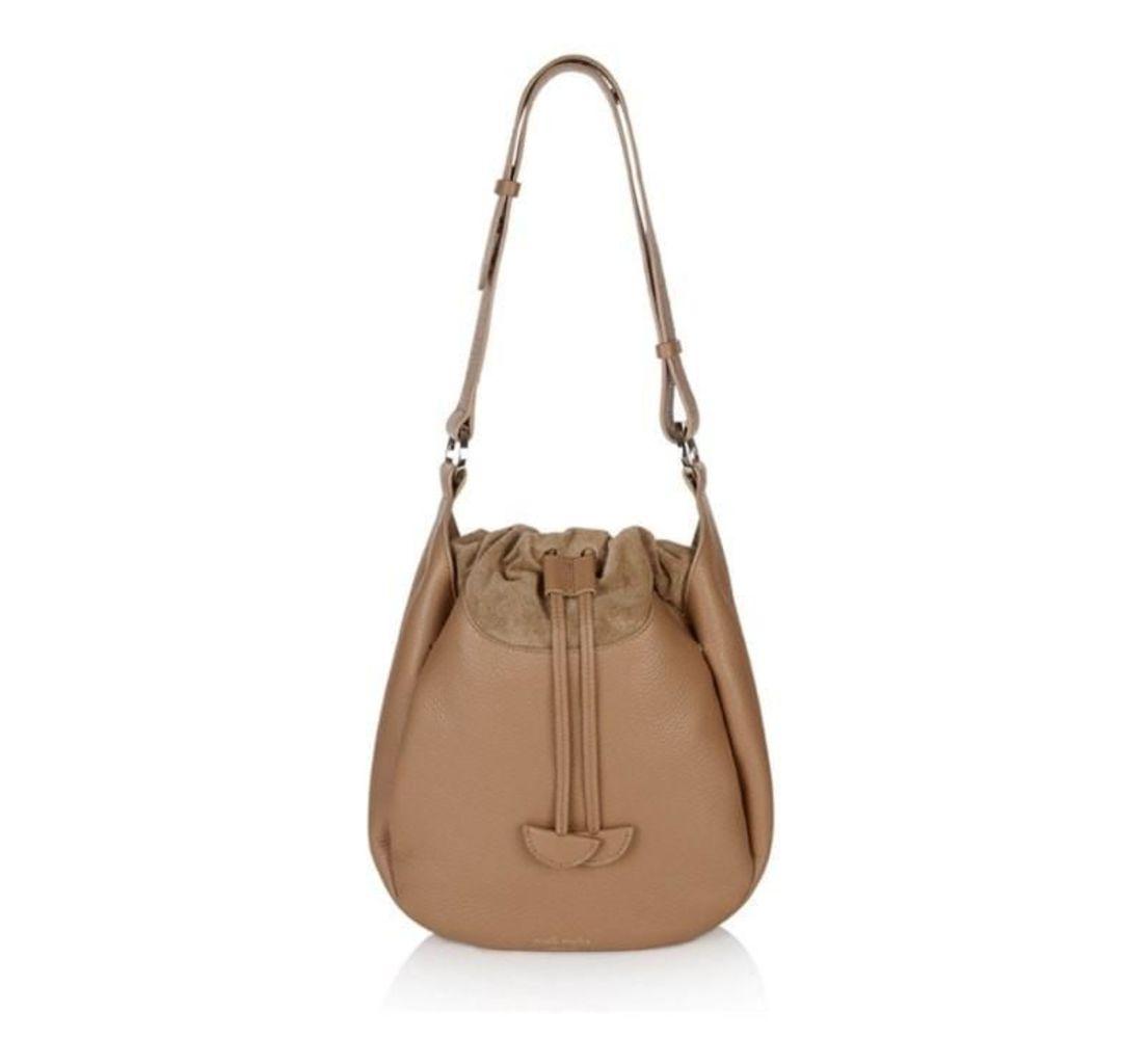 Alba Medium Shoulder Bag Light Tan