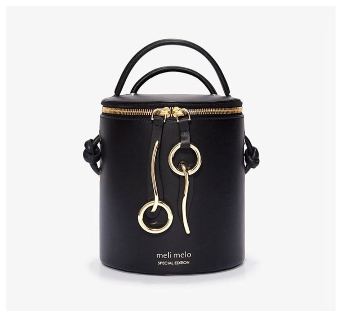 Severine Bucket Bag Liquorice Black