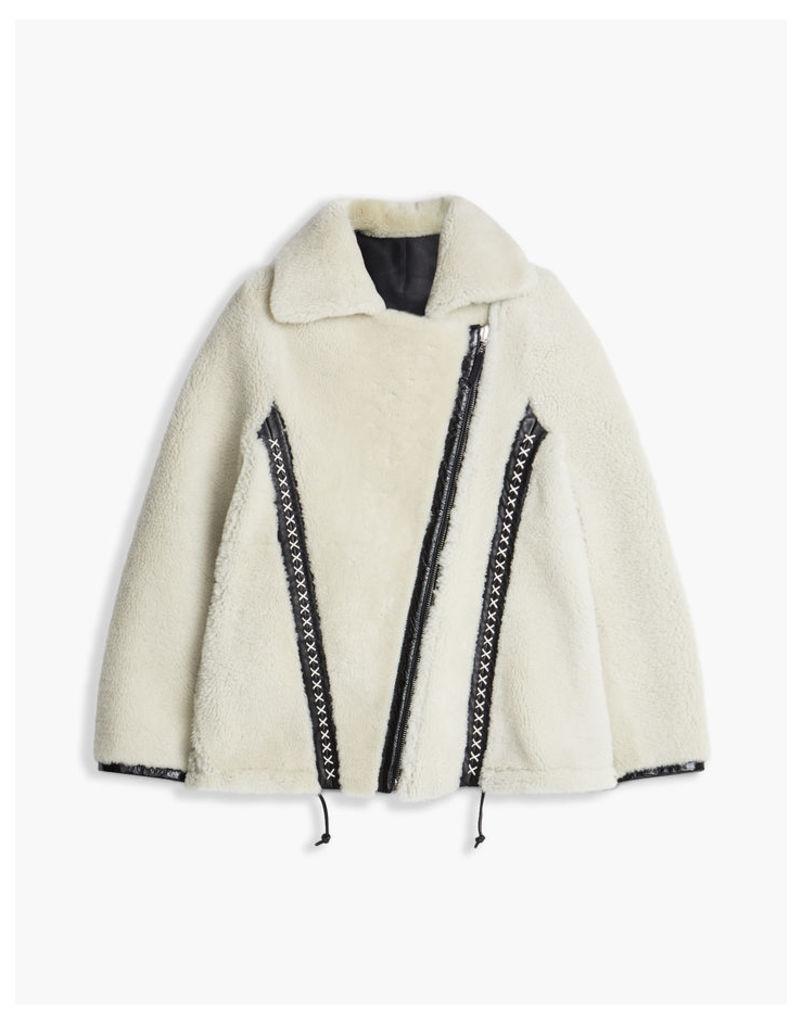 Belstaff Elmington Shearling Jacket natural