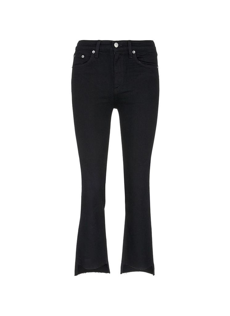 '10 Inch Stovepipe' wide leg jeans