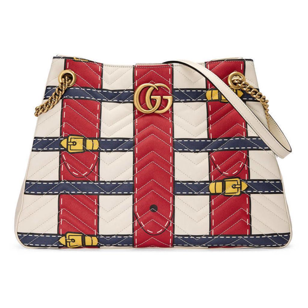GG Marmont Trompe L'oeil shoulder bag