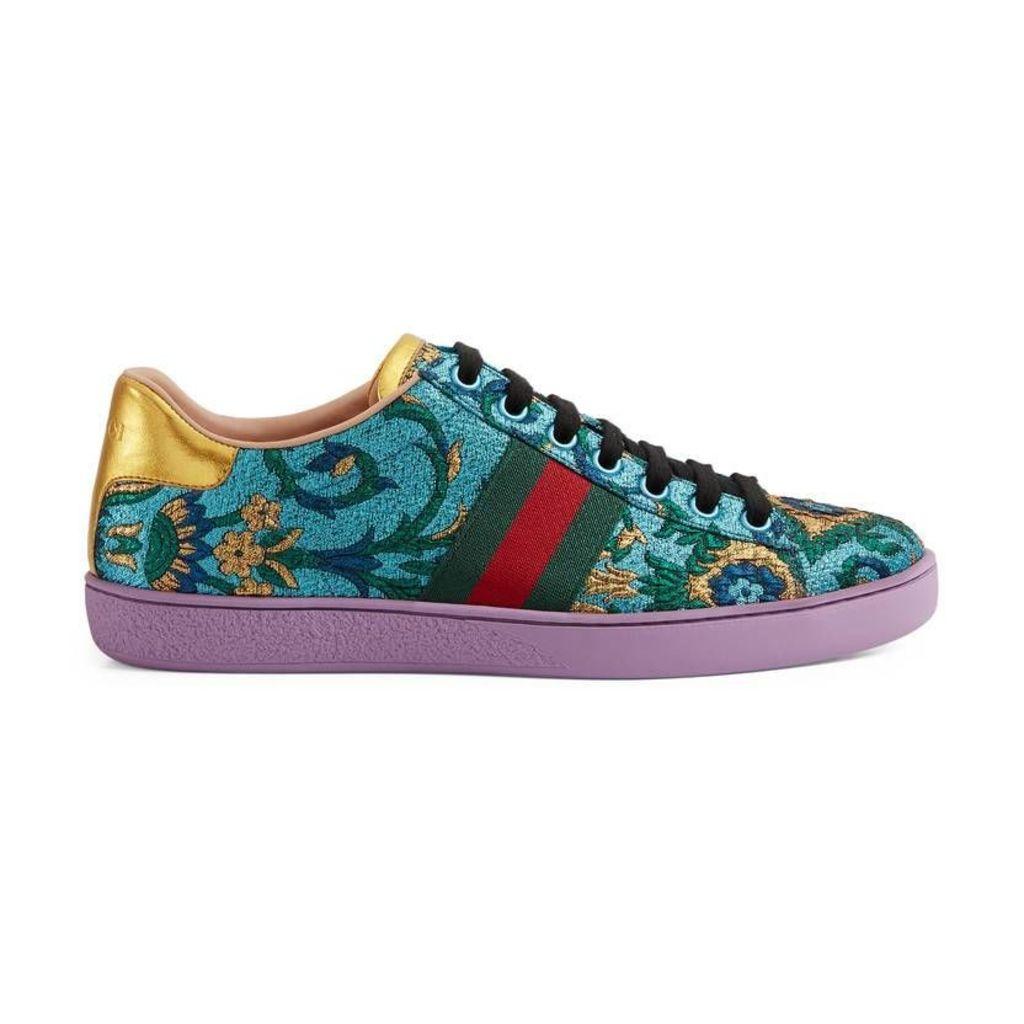 Ace brocade low-top sneaker