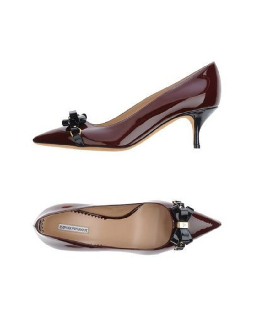 EMPORIO ARMANI FOOTWEAR Courts Women on YOOX.COM