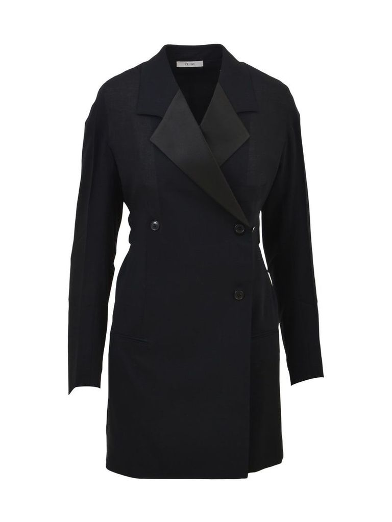 Celine Double-breasted Jacket