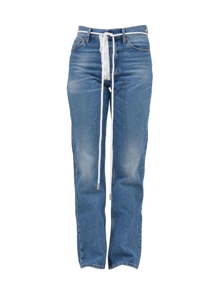 Off-White Washed Out Denim Jeans