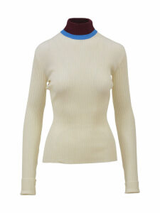 Calvin Klein White Turtleneck