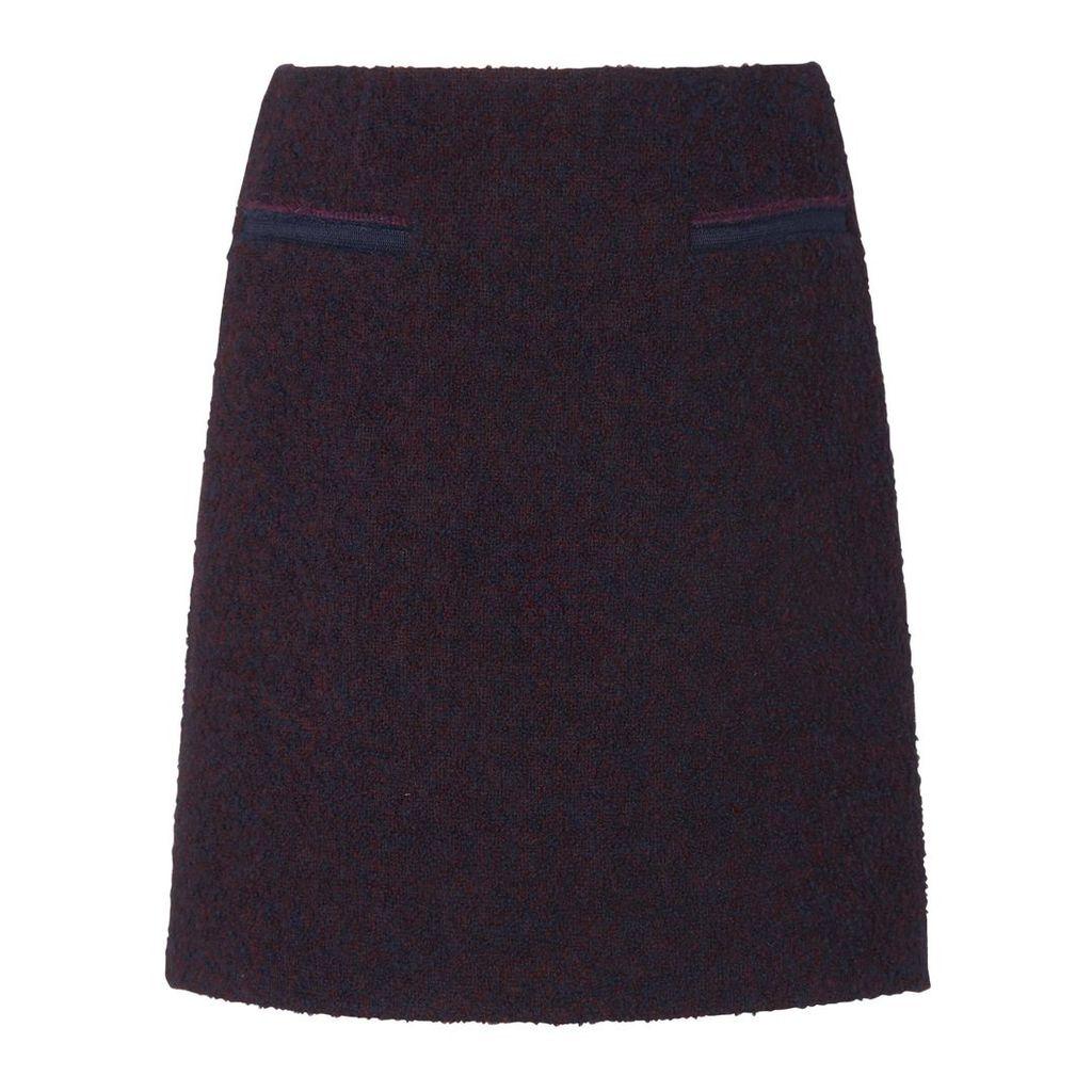 Astra Navy Skirt