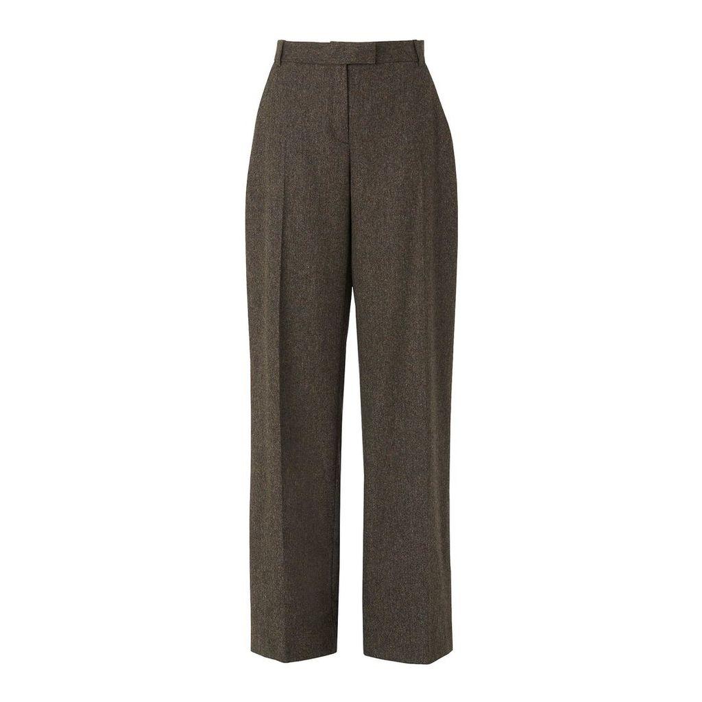 Margret Tweed Wool Trouser