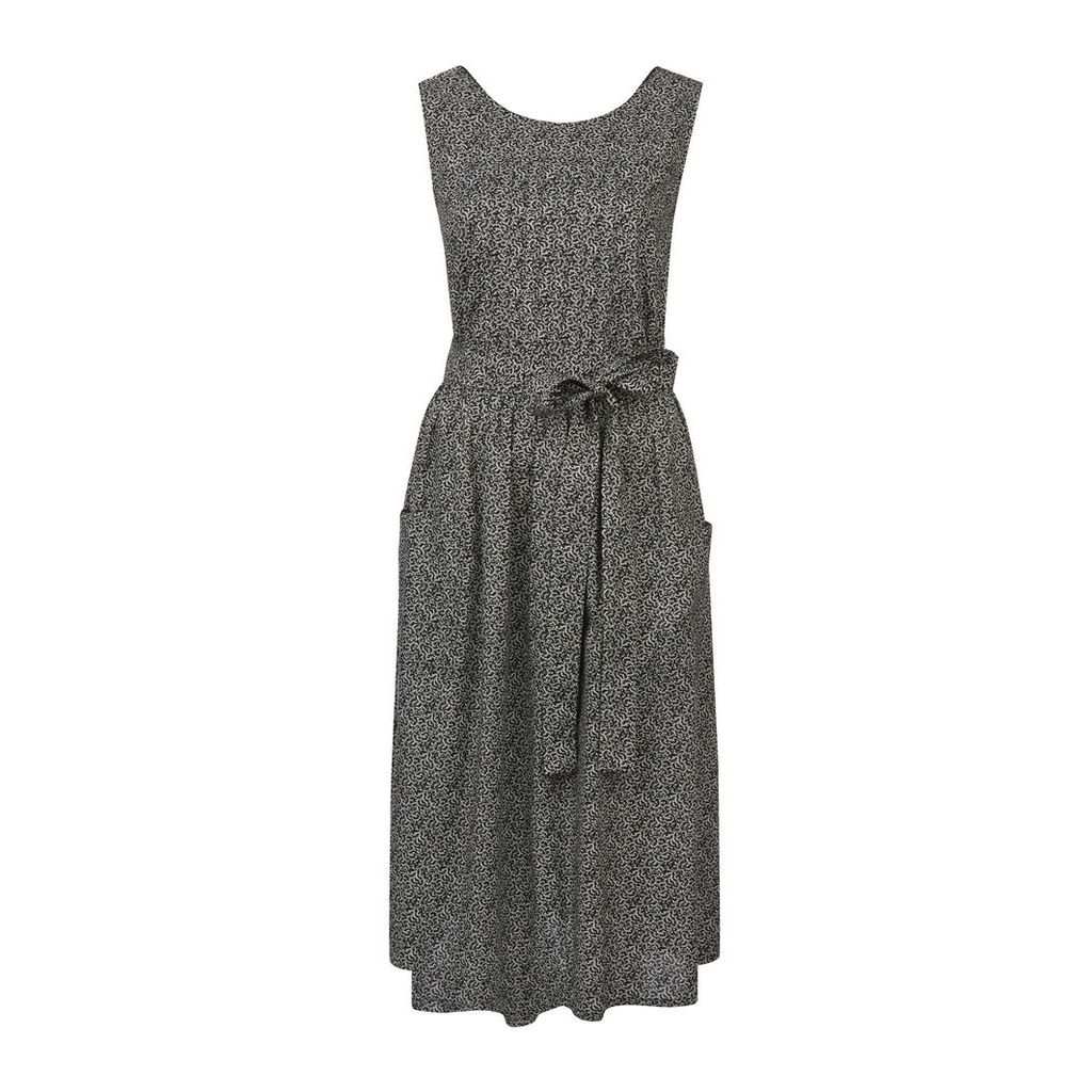 Ditsy Floral Print Sleeveless Dress