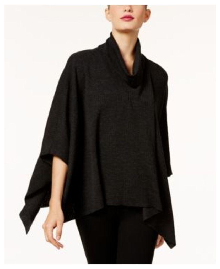 Eileen Fisher Merino Wool Poncho Sweater