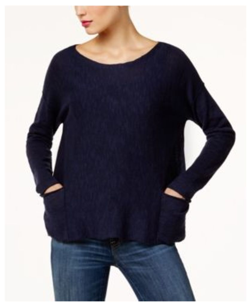 Eileen Fisher Organic Linen-Cotton Blend Sweater, Regular & Petite