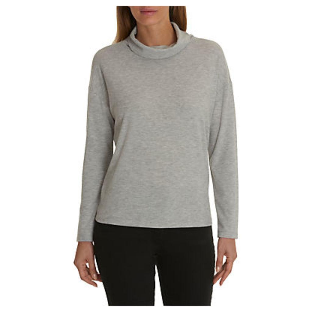 Betty Barclay Melange Jersey Sweater, Light Grey Melange