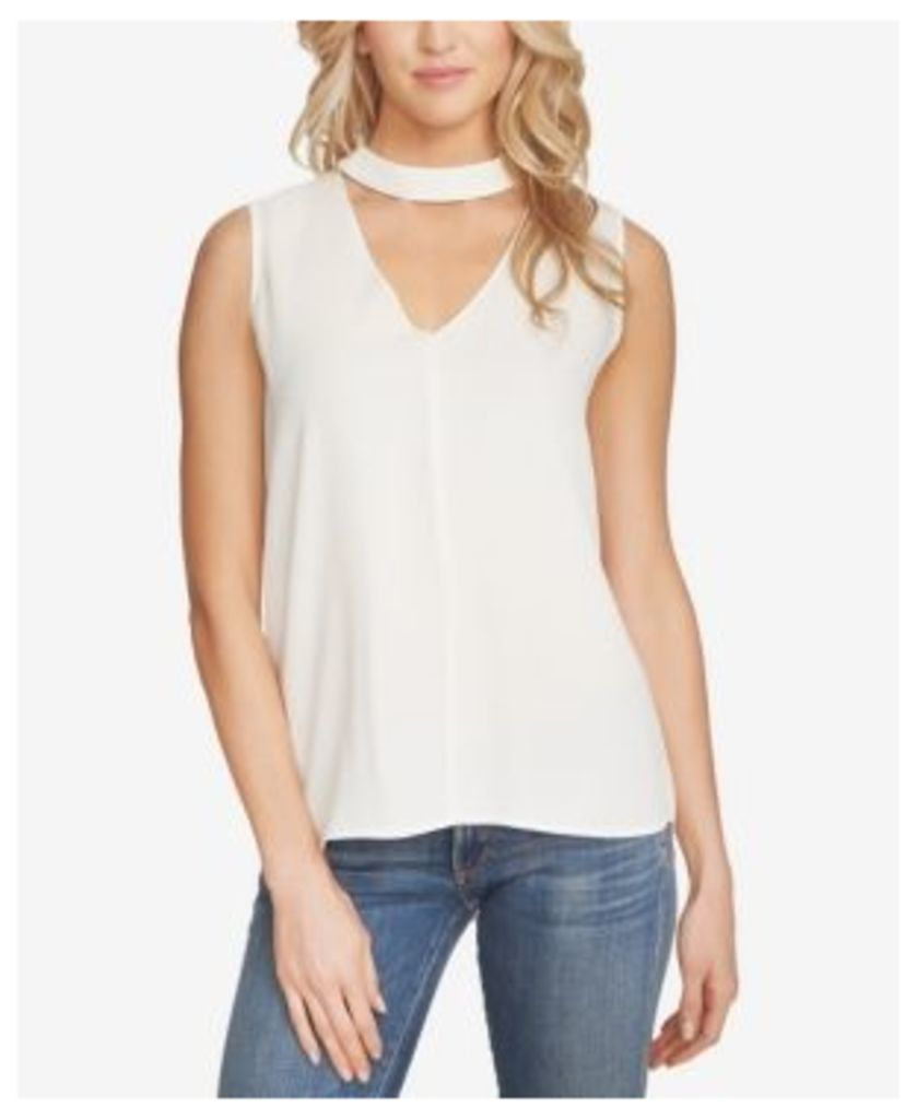 1.state High-Low Choker Top