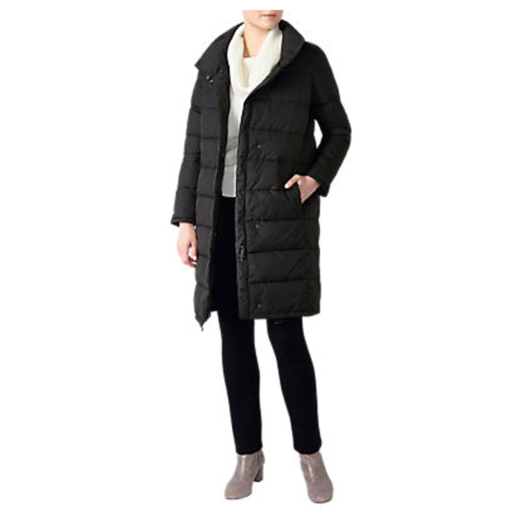 Pure Collection Funnel Neck Padded Coat