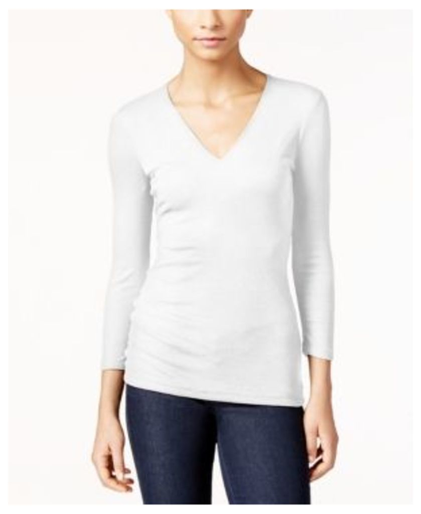 Inc International Concepts Ribbed Top, Created for Macy's