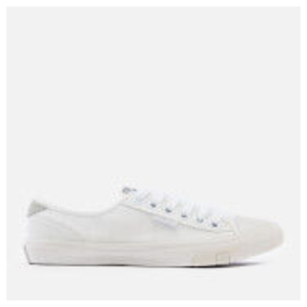 Superdry Women's Low Pro Trainers - White/White - UK 8 - White