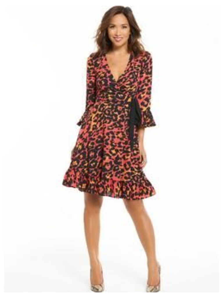 Myleene Klass Tea Dress, Print, Size 12, Women