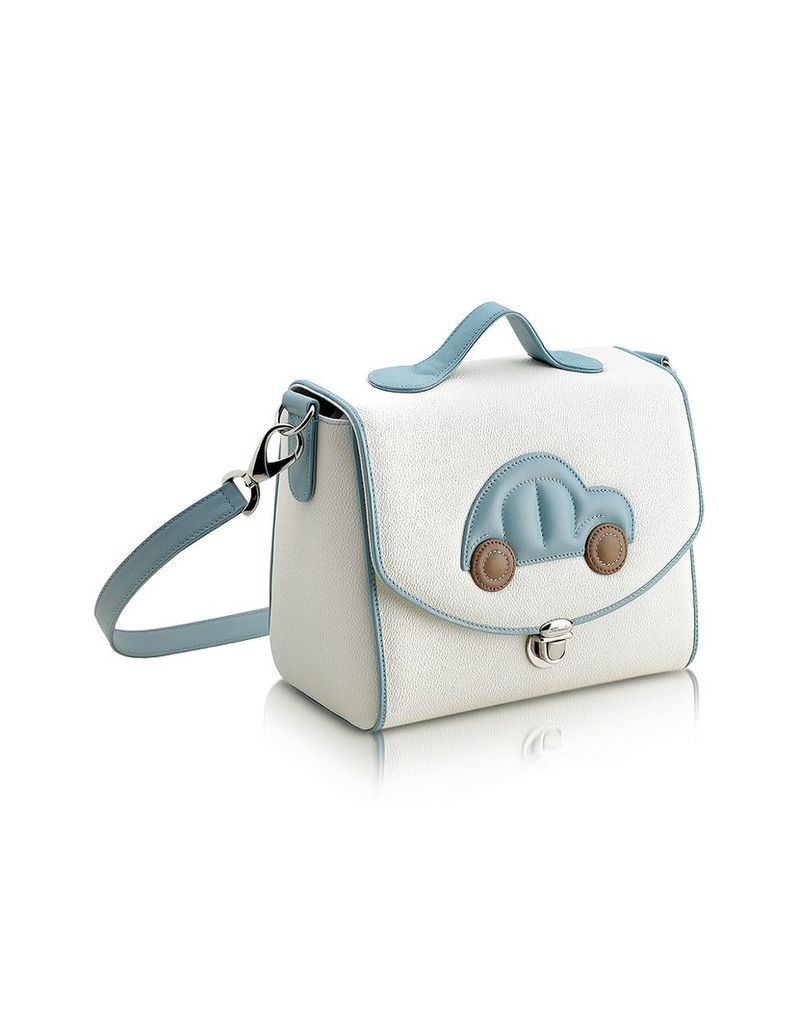Pineider Travel Bags, Blue Car Snack Bag