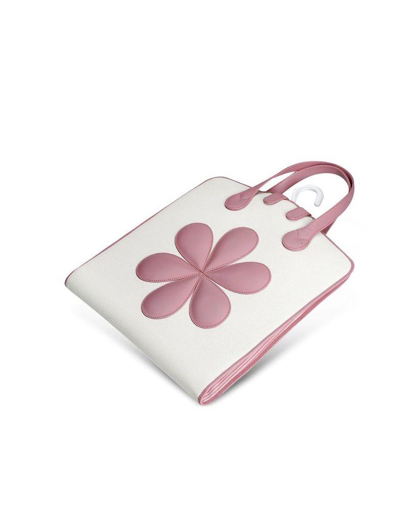 Pineider Travel Bags, Pink Flower Baby Garment Bag