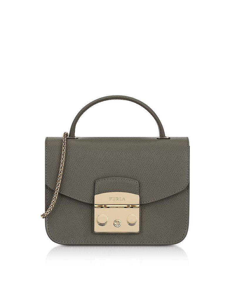 Furla Handbags, Argilla Metropolis Mini Top Handle Crossbody Bag