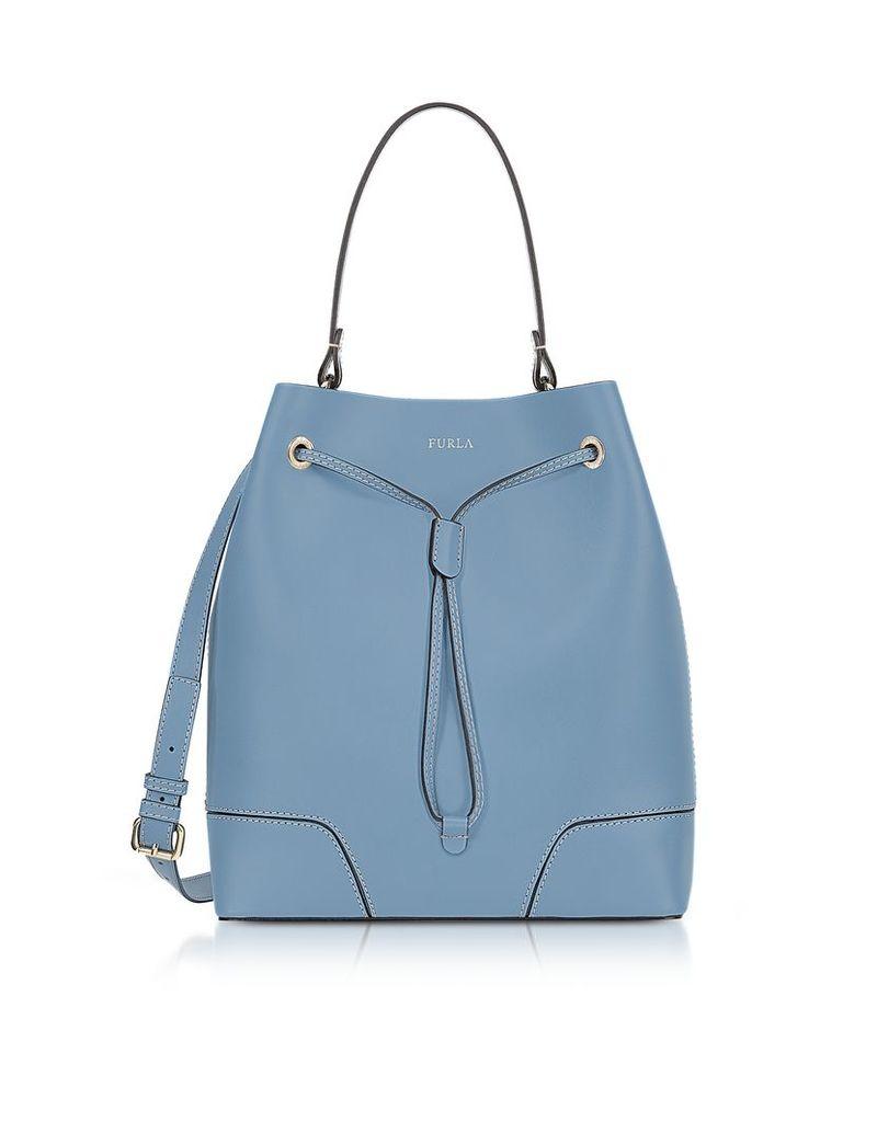 Furla Handbags, Stacy M Thunder Leather Bucket Bag