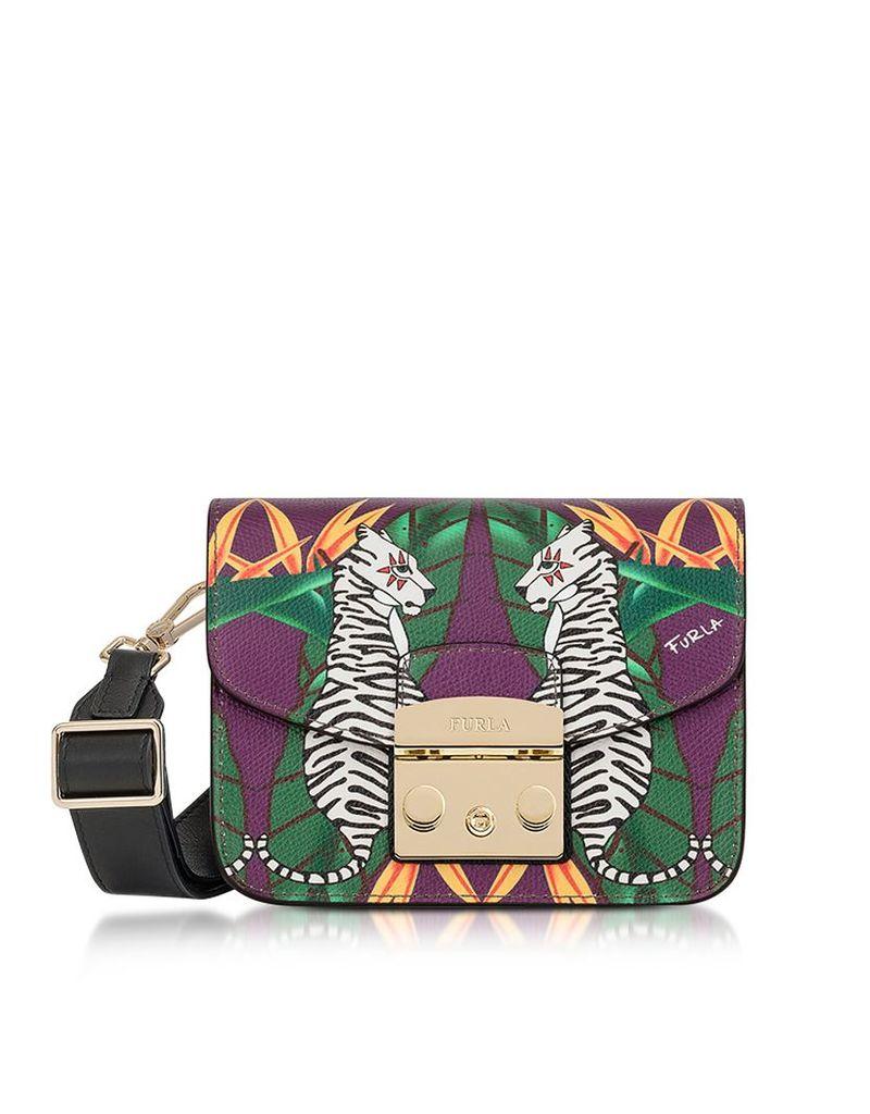 Furla Handbags, Toni Viola Metropolis Mini Crossbody Bag