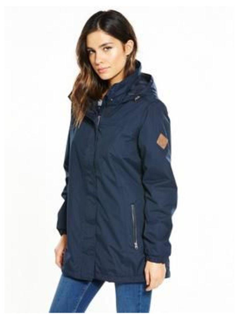 Regatta Myrtle Waterproof Jacket, Navy, Size 10, Women