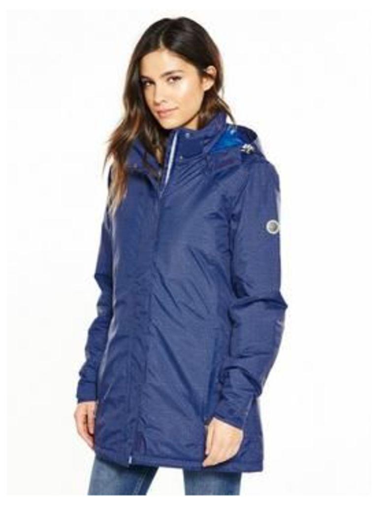 Regatta Seyma Waterproof Jacket - Blue, Blue, Size 12, Women