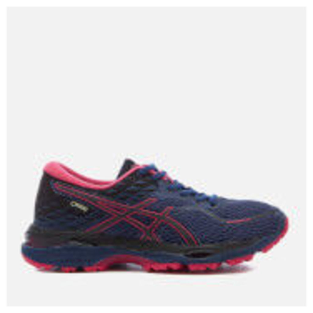 Asics Running Women's Gel Cumulus 19 GTX Winter Running Trainers - Indigo Blue/Black/Cosmo Pink