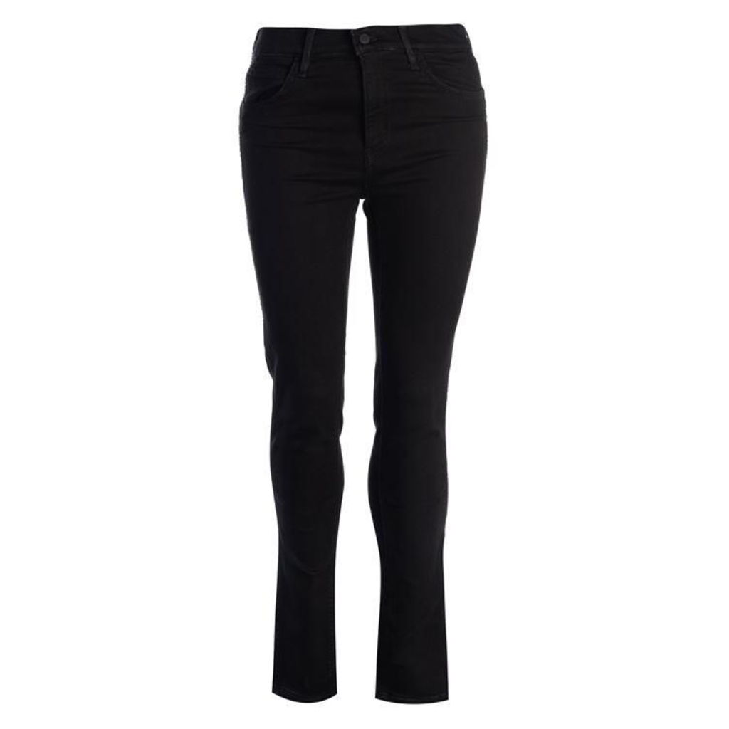 Levis Line 8 High Rise Skinny Jeans Womens