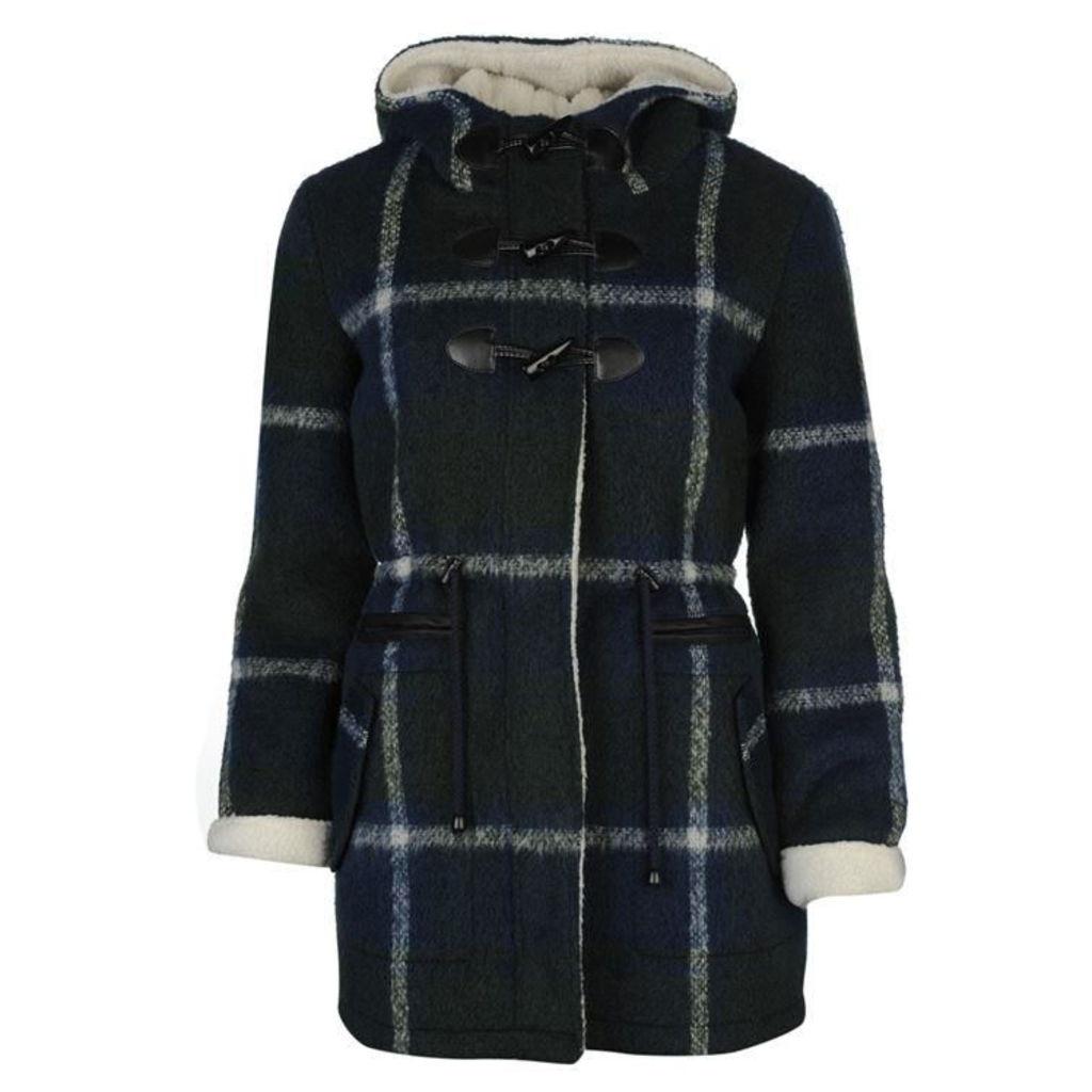 SoulCal Check Duffle Coat