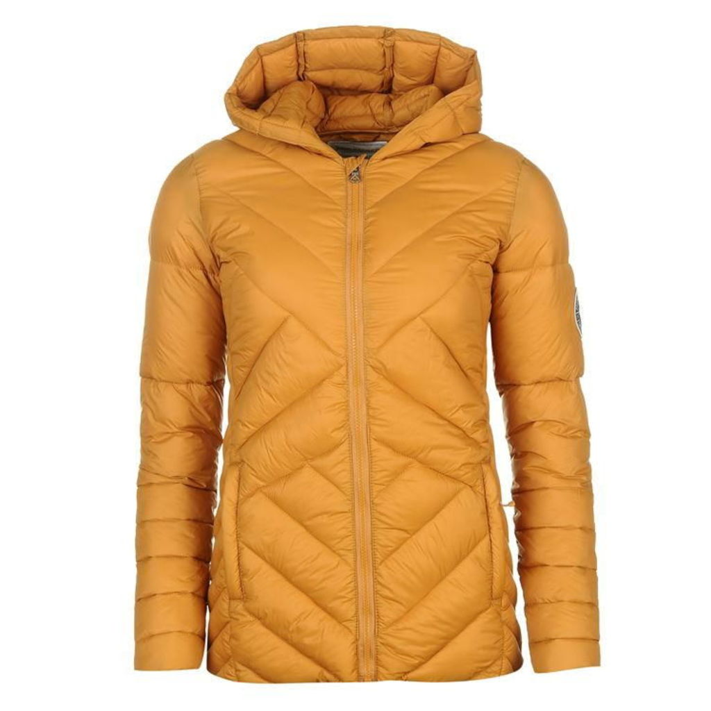 SoulCal Micro Bubble Hooded Jacket Ladies