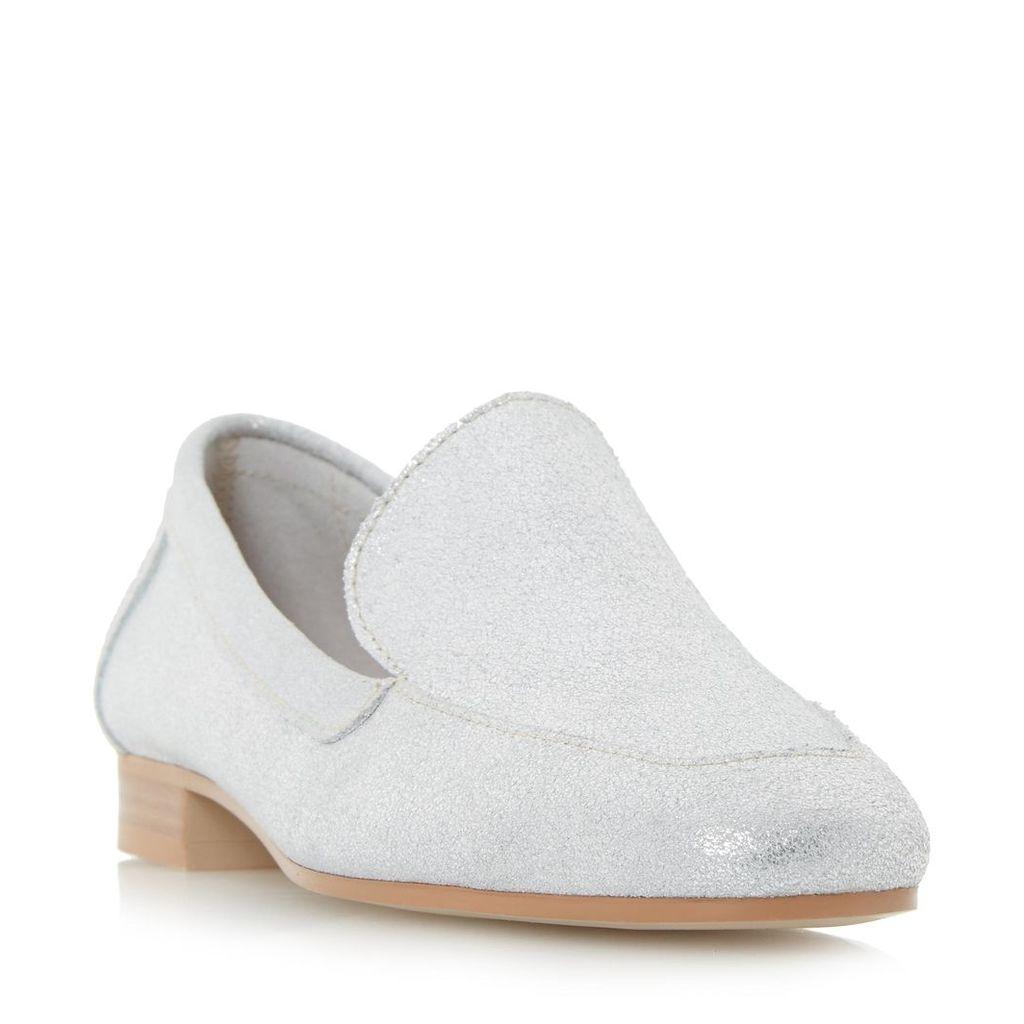 Glimpse Slipper Cut Square Toe Loafer Shoe