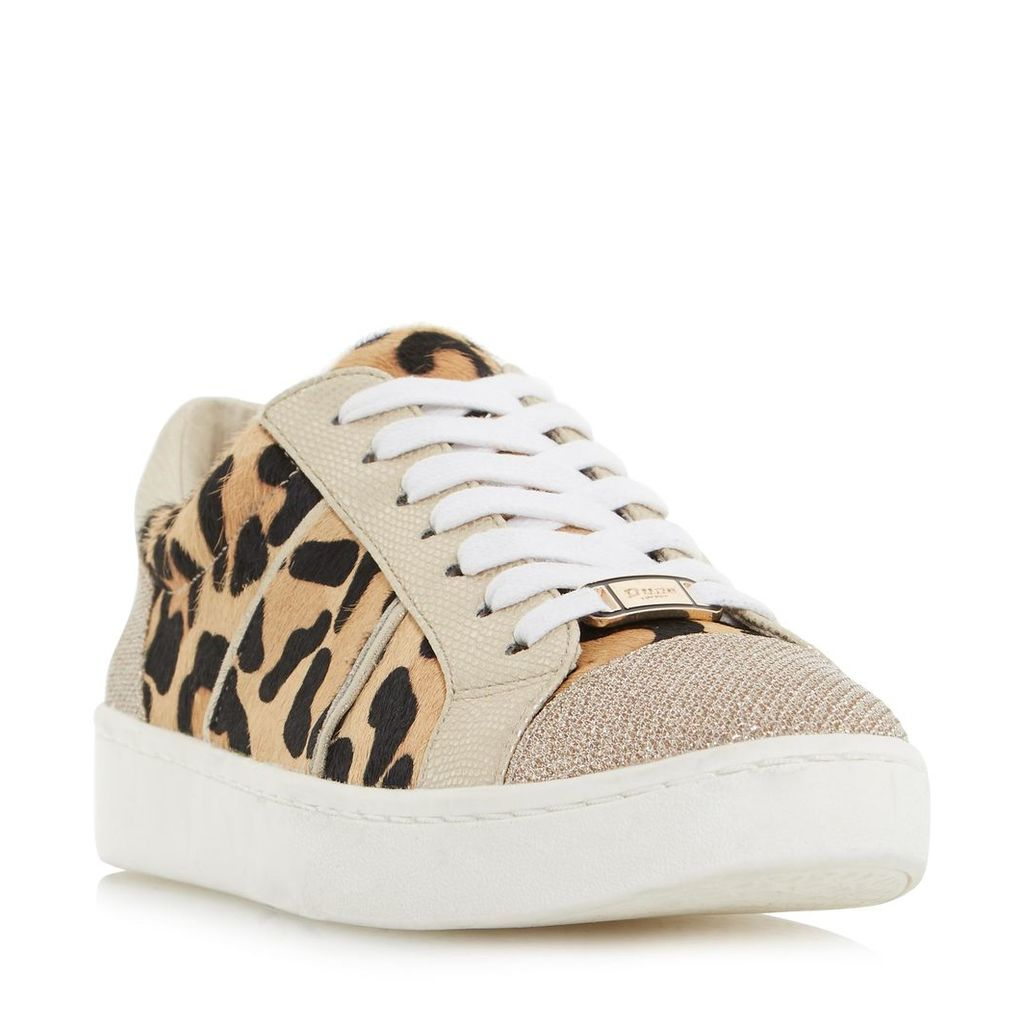 Egypt Contrast Panel Lace Up Trainer