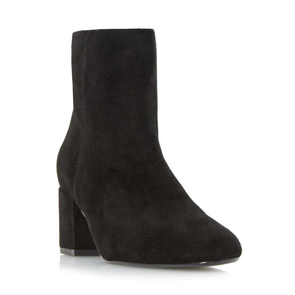 Olyvea Mid Block Heel Ankle Boot