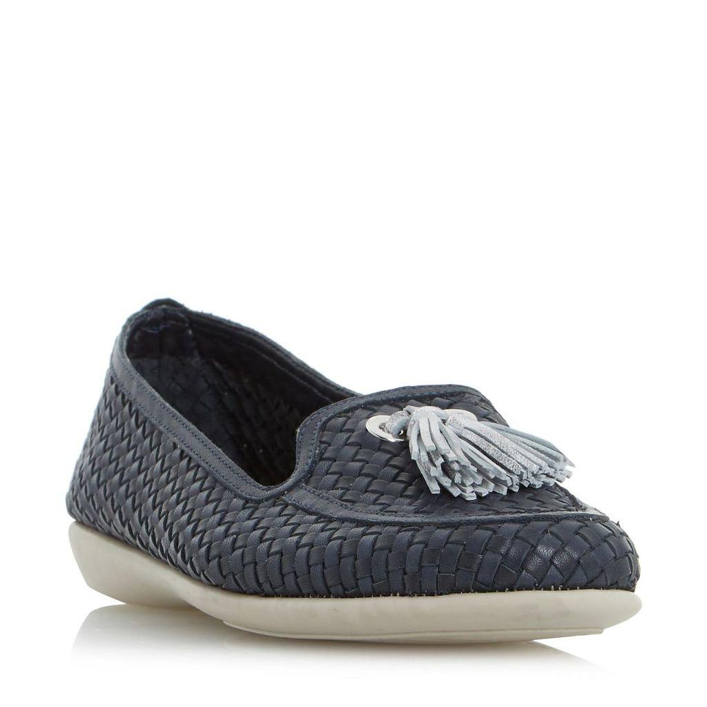 Greenwich Comfort Tassel Detail Woven Loafer Shoe