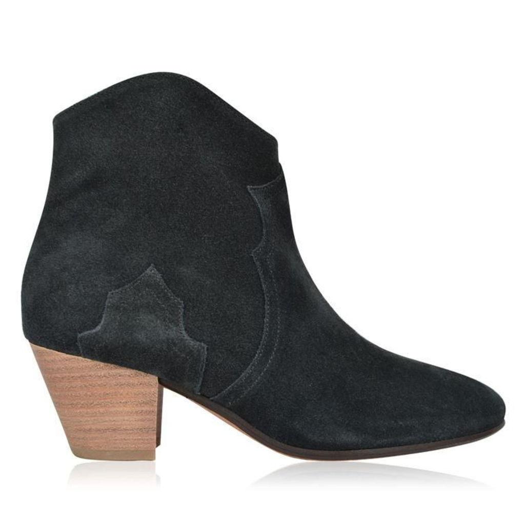 ISABEL MARANT ETOILE Dicker Velvet Boots
